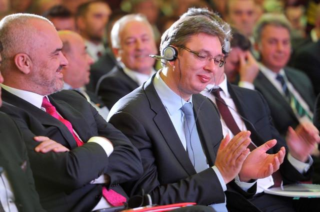 Aleksandar Vučić i Edi Rama