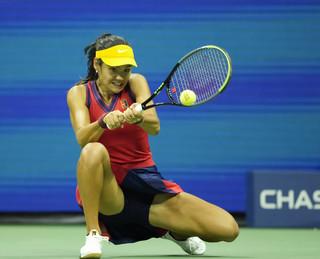 Strój Emmy Raducanu trafił do tenisowej Galerii Sław