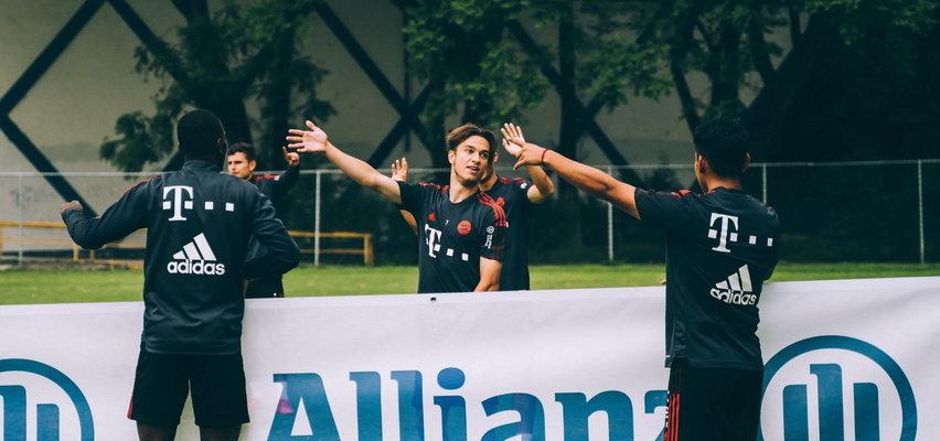 Młody Polak Mateusz Sobotka trenuje z Bayernem. Wszyscy pytają mnie o Lewandowskiego