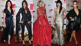 Moda gwiazd na MTV EMA 2012