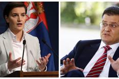 Ana Brnabić, Vuk Jeremić, Kombo
