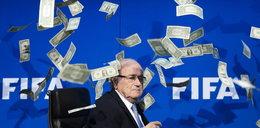 Zawieszony szef FIFA wciąż bierze pensję