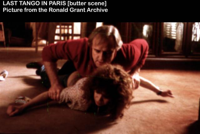 Marlond Brando i Marija Šnajder u ozloglašenoj sceni analnog silovanja