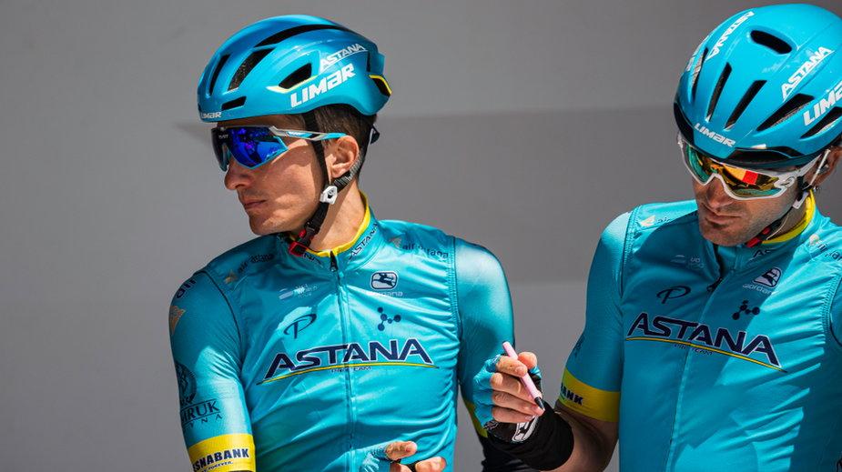 Kolarze grupy Astana