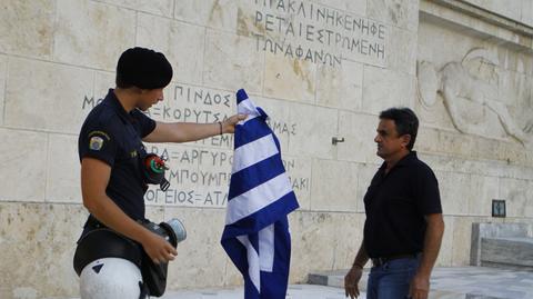 Grecja znowu straszy Europę