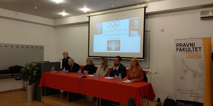 Naučni skup o dopingu u sportu