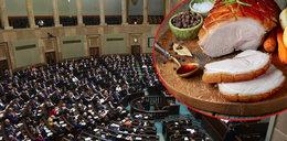 Tak Sejm będzie się objadał w czasach zarazy. Kupują frykasy dla posłów