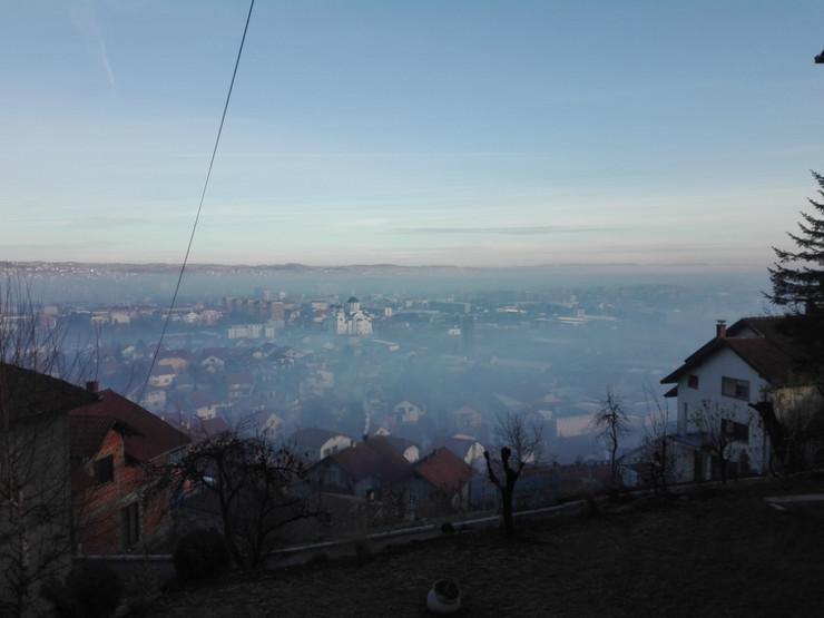 Valjevo u zagadjenom vazduhu januar 2019-01