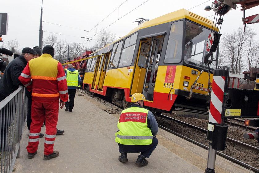 Wykolejenie tramwajów