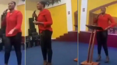 """May God punish you"" – Pastor curses members for not donating towards her birthday (video)"