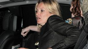 Kate Moss z mężem po imprezie. Wyglądała źle