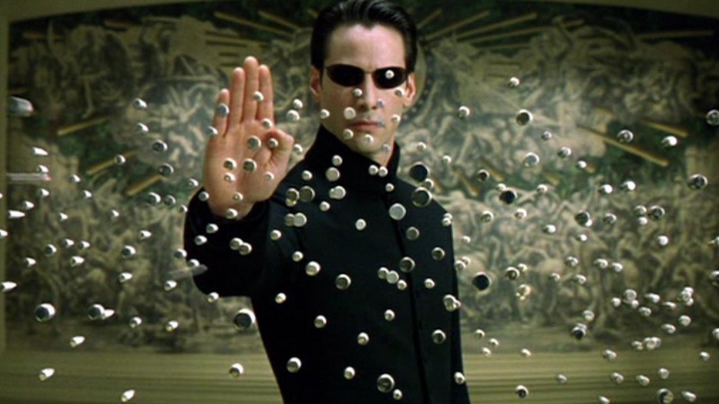 """Keanu Reeves jako """"Neo"""" w trylogii """"Matrix"""""""