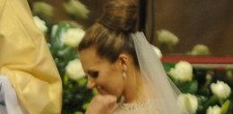 Dziwny gest Oli Kwaśniewskiej na ślubie. Czy to...