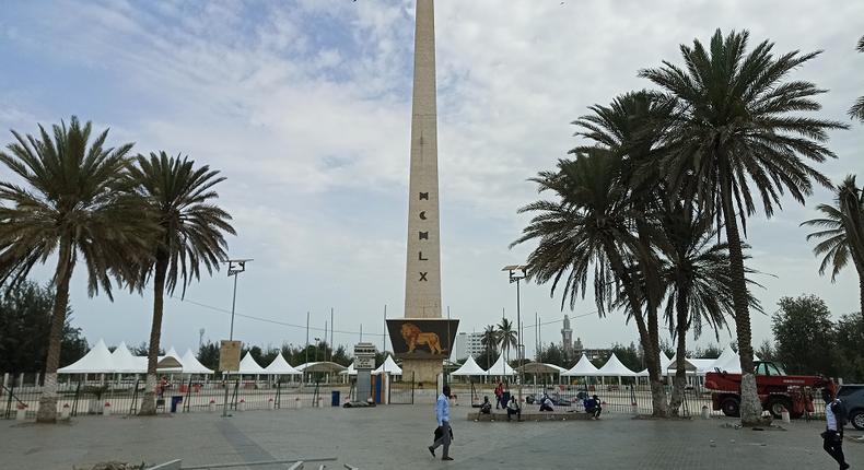 place obelisque