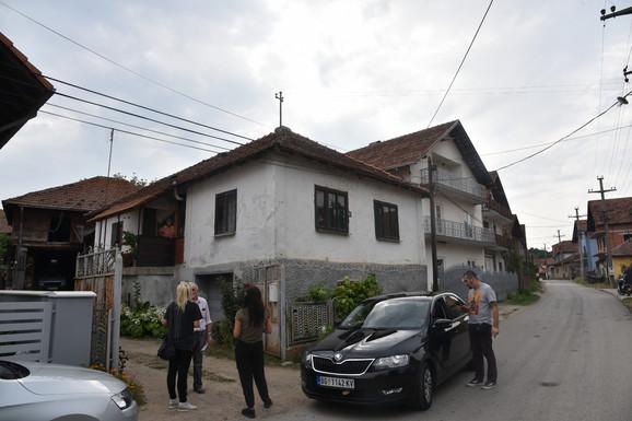 Kuća u kojoj je uhapšen Davor Pernić