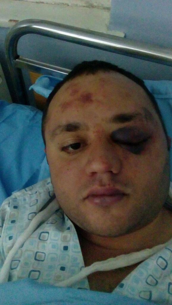 Boris Jevrosimov u bolnici