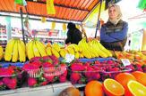 Novi Sad 12 jagode u martu pijaca foto Robert Getel