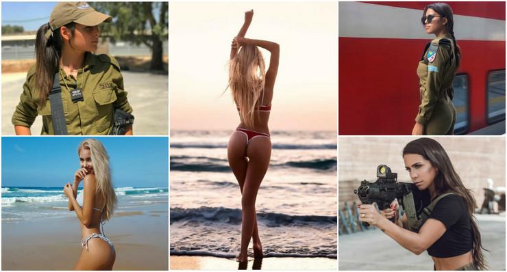 Žene, Izrael, Vojnici, Lepotice