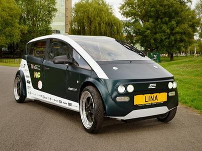Samochód wymyślony przez studentów z Eindhoven