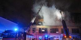 Pożar fabryki w Łodzi: Strażacy podejrzewają podpalenie