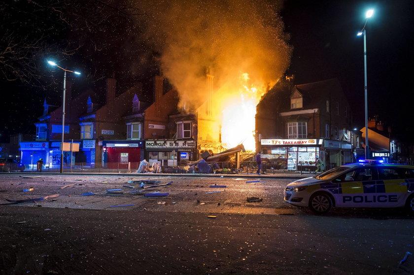 Wybuch w polskim sklepie