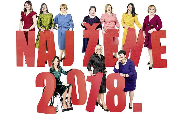 One su naj žene za 2018. godinu