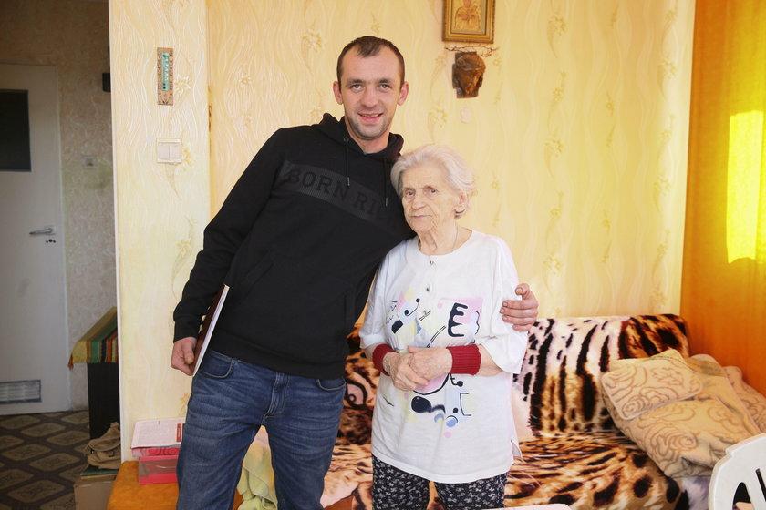 Pani Zofia już bezpieczna! Mieszkanie wykupił wnuczek.