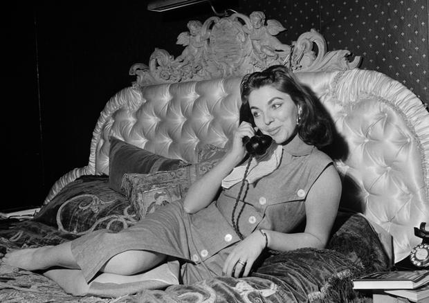 Młoda Joan Collins