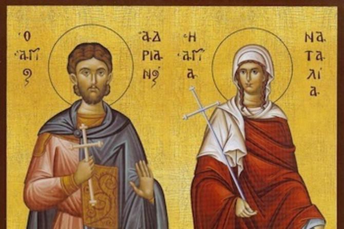 Priča svetitelja Adrijana i Natalije slovi za najpotresniju hrišćansku ljubavnu priču