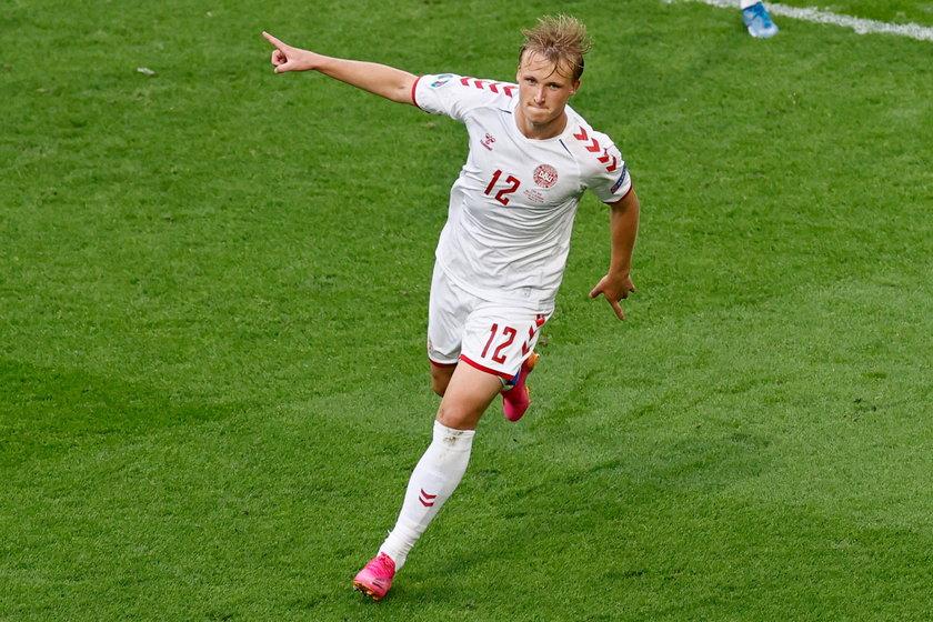 Kasper Dolberg (23 l.), napastnik, Nice.