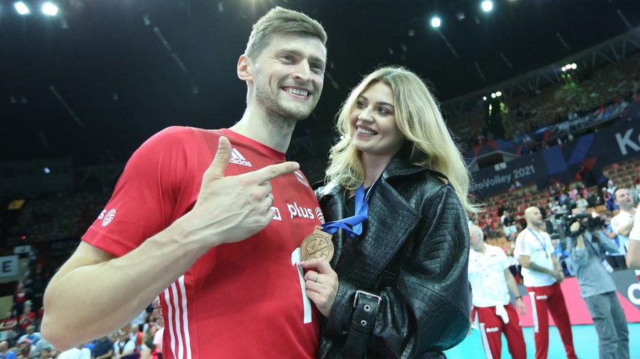 Piotr Nowakowski wraz z żoną Aleksandrą