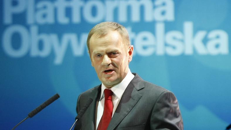 Tusk: Nie ma sensu demonstrowanie złości