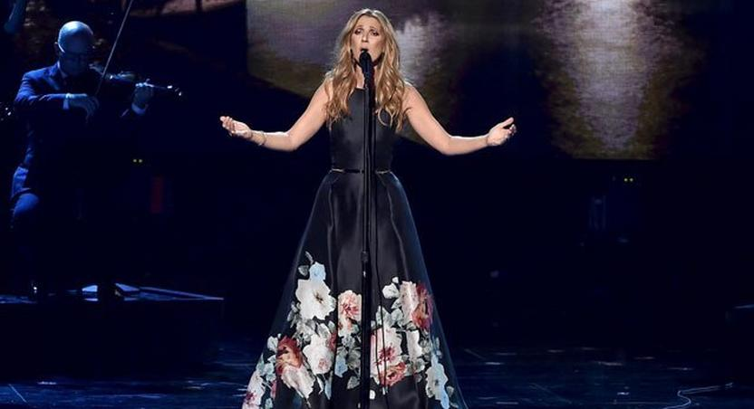 Celine Dion makes audience cry during moving performance for Paris victims at 2015 AMA