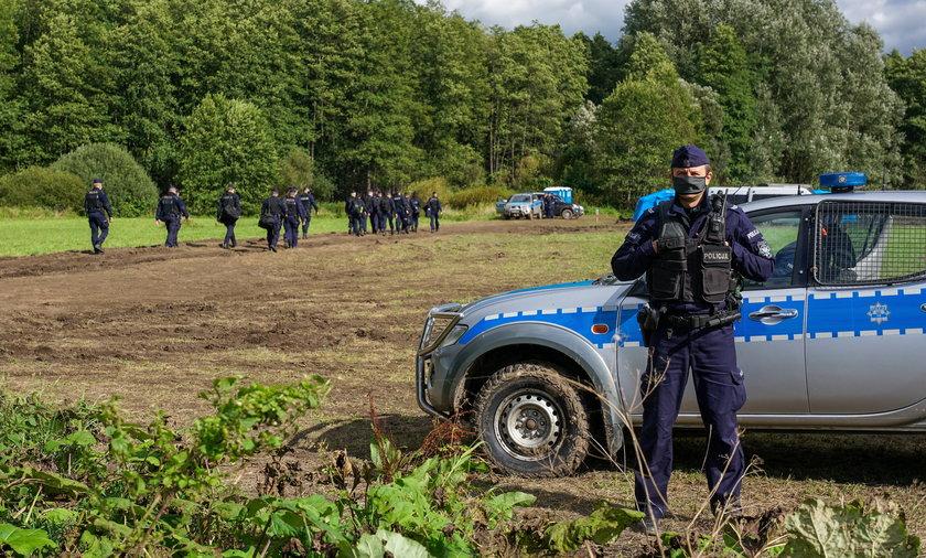 Tragedia na Podlasiu. Znaleziono ciało jednego z imigrantów