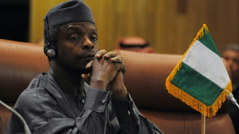 Vice President Yemi Osinbajo is concerned about Nigeria's poverty rate [AFP]