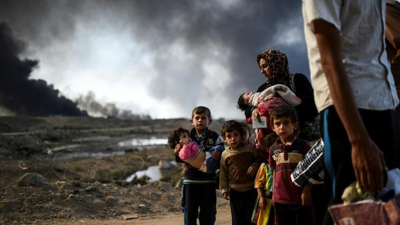 Since the battle for Mosul began in mid-October, 103,872 people have been displaced, the vast majority from Nineveh province, of which Mosul is the capital