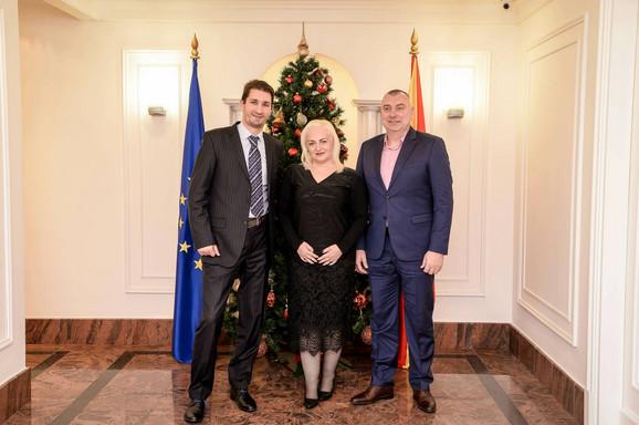 U Skoplju - Delegacija Sportskih igara mladih Srbije