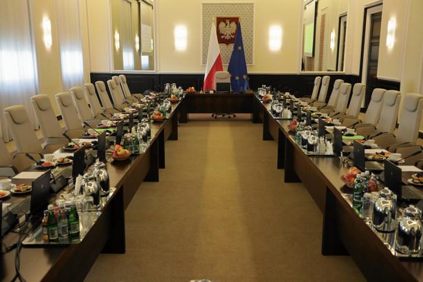 Sala posiedzeń rządu
