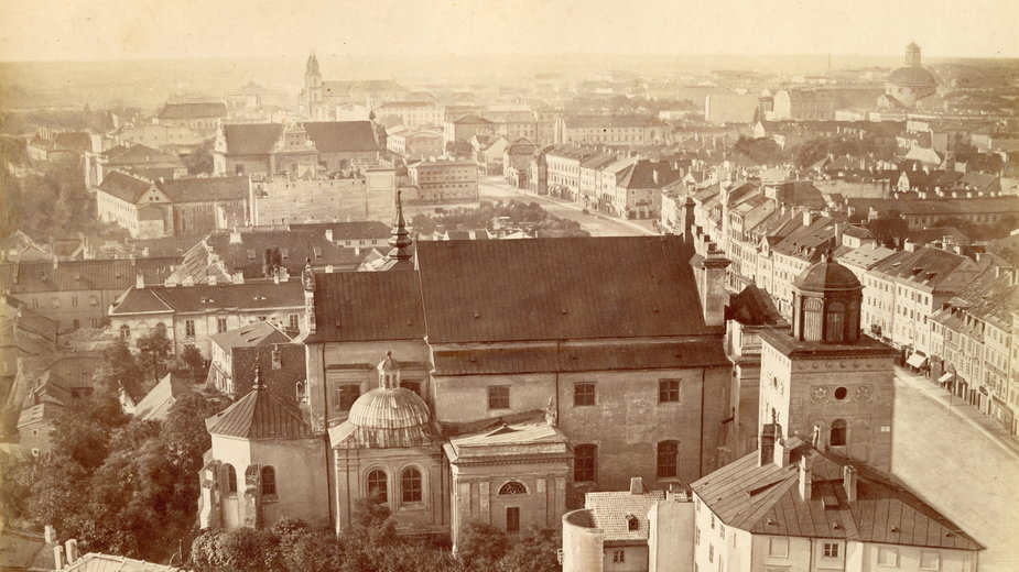 Panorama Warszawy autorstwa Konrada Brandla – zobacz, jak zmieniła się Warszawa w ciągu 148 lat