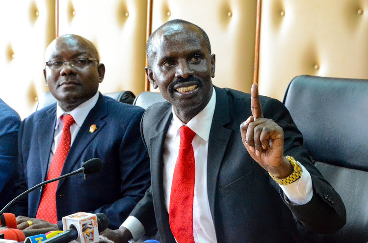 Knut officials locked out of Education conference