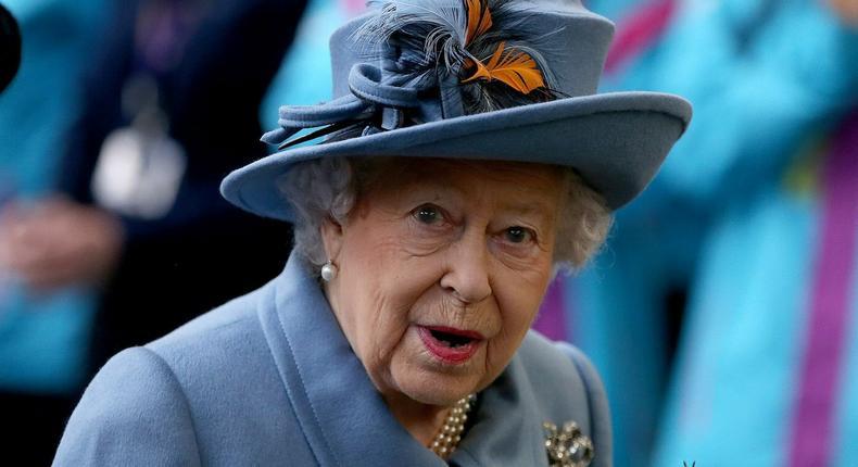 The Queen of England, Elizabeth II (Business Insider)