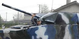 Zbuduj sobie czołg na wojnę. FOTO