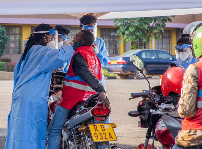 Testiranje se vrši nasumično na ulicama Ruande