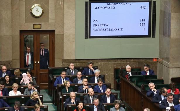 Projektem nowelizacji ustawy o PIT zajmie się komisja finansów publicznych