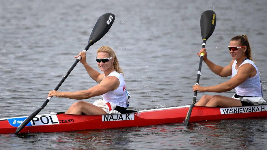 Karolina Naja i Helena Wiśniewska