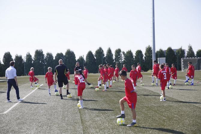 Eurobank dovela Mančester junajted Školu fudbala u Srbiju