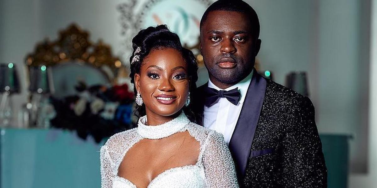 #RoyalAffair21: All the beautiful photos from Naa Dromo's star-studded white wedding