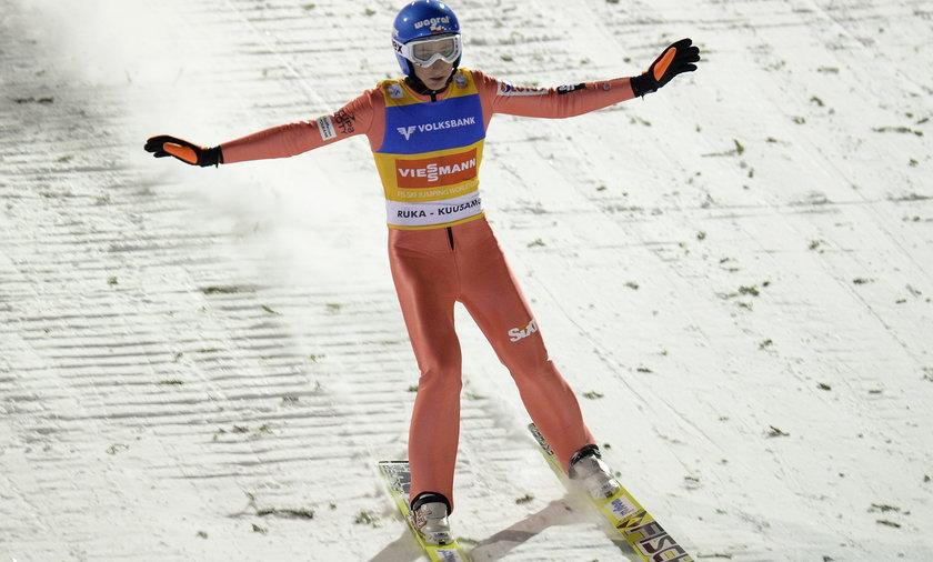Skoki w Kuusamo Krzysztof Biegun