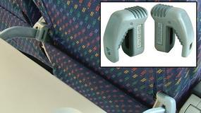 Knee Defender - gadżet blokujący fotel w samolocie, czyli podniebne awantury o kawałek plastiku