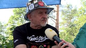 Pan Andrzej jest najstarszym Woodstockowiczem – ma 71 lat